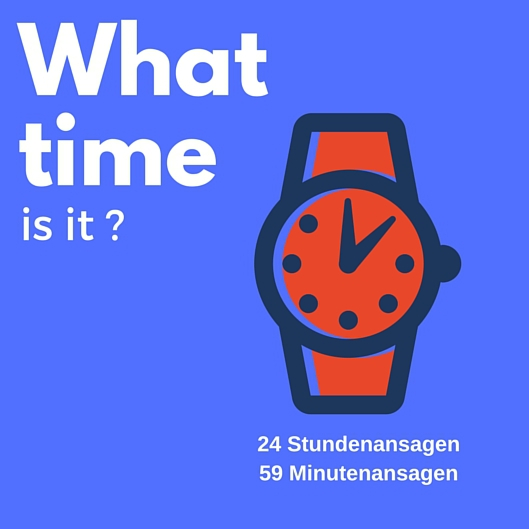 Bild 1 von What time is it? - Alle Stunden - alle Minuten
