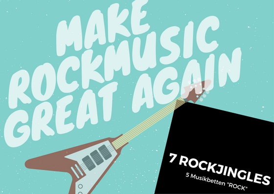 Bild 1 von ROCK Jingles - Make Rockmusic great again!  / (Bitte Option wählen) Nur Jingle 5 (Ohne Namen)